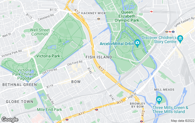 Map for Crown Close Holdings Ltd, London