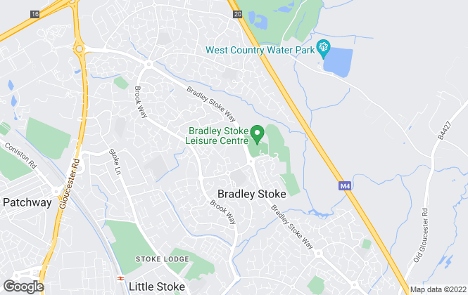 Map for CJ Hole, Bradley Stoke