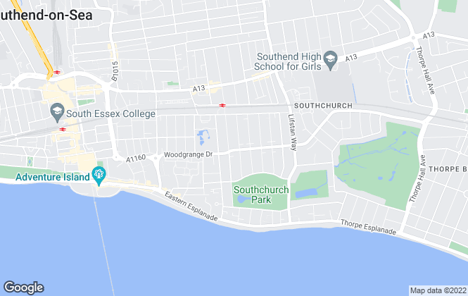 Map for 1st Call Sales & Lettings, Southend