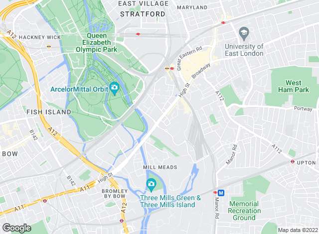 Map for Filtons Stratford Ltd, Stratford