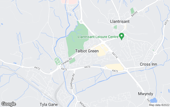 Map for Hywel Anthony Estate Agents, Talbot Green