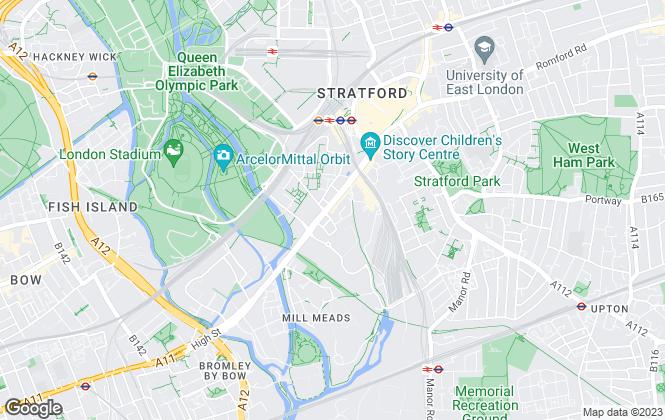 Map for Samson Estates Limited, London