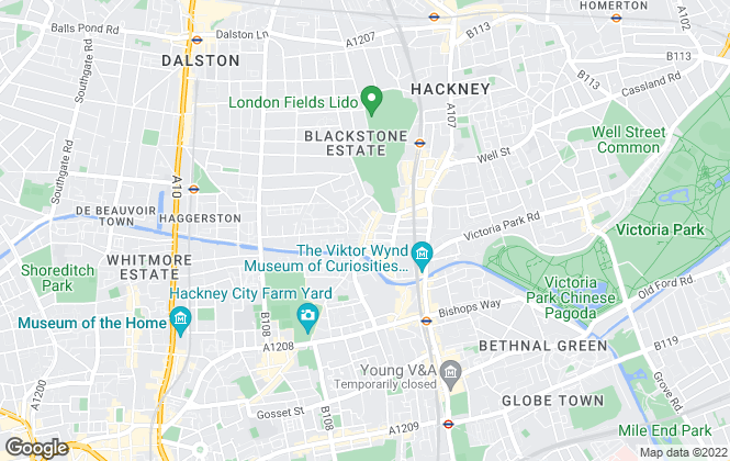 Map for Blake Stanley Estate Agents, London