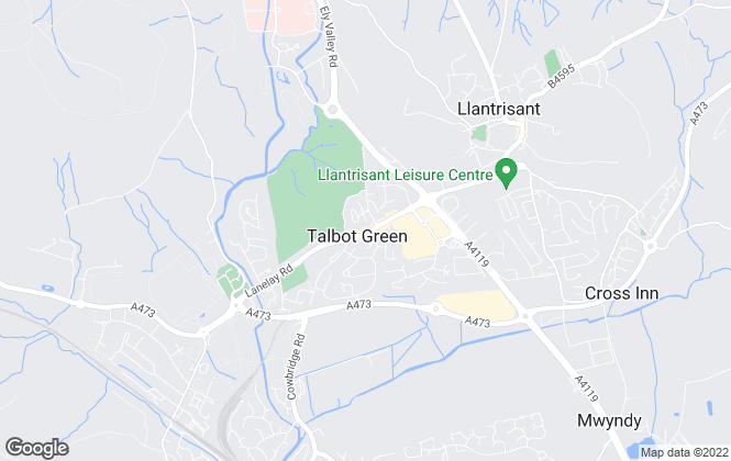 Map for Durbins Estate Agents, Talbot Green