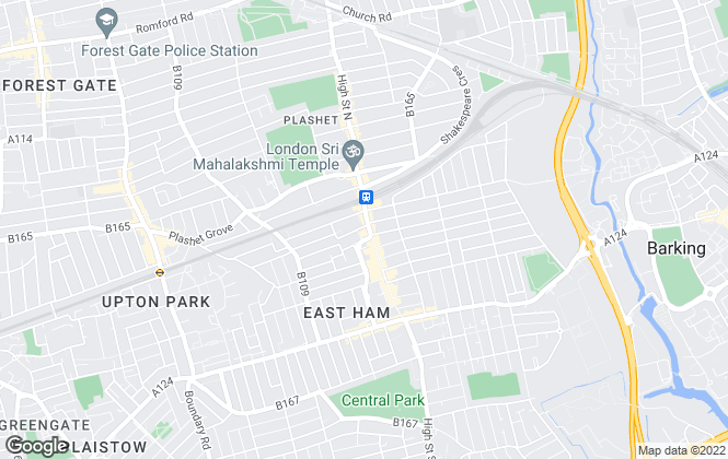 Map for Morgan Knights, East Ham