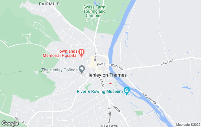 Map for Chancellors, Henley-On-Thames
