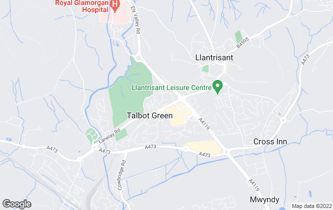 Map for Allen & Harris, Talbot Green - Lettings