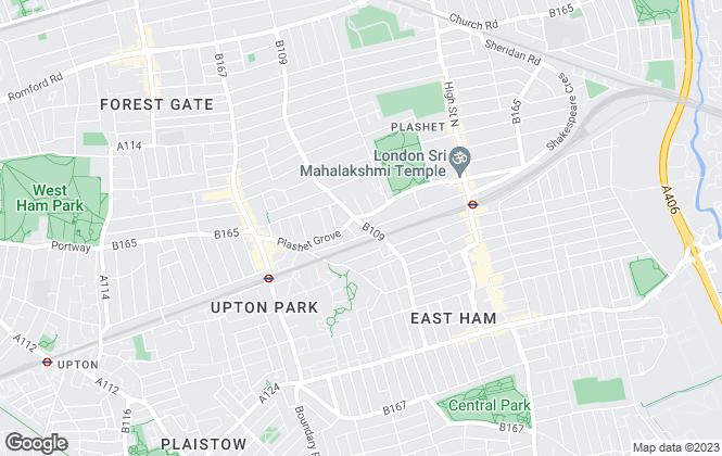 Map for Azeem Enterprises, London