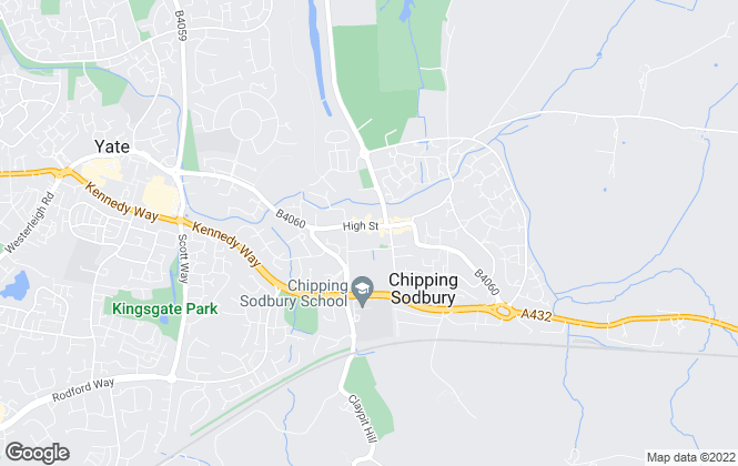 Map for Milburys, Chipping Sodbury