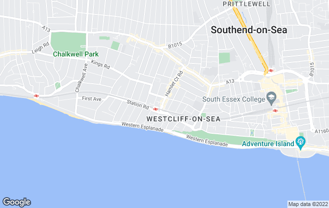 Map for Ramsey Moore, Westcliff