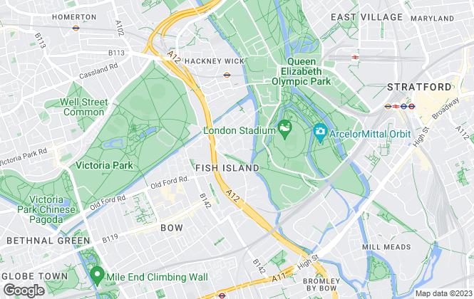 Map for London Live Work Ltd, Hackney
