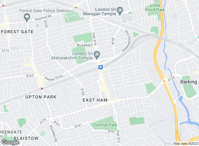 Map for Easymove, East Ham - Lettings