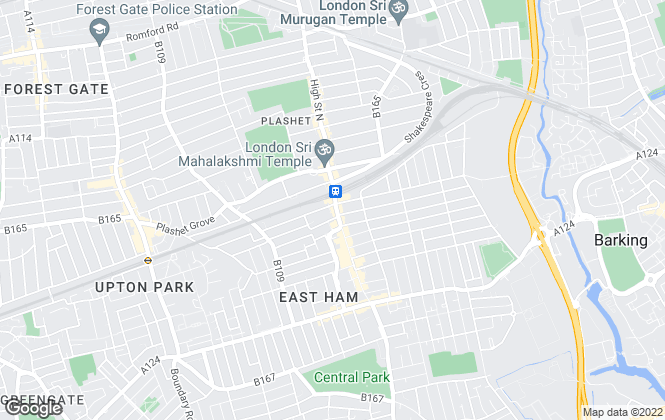 Map for Easymove, East Ham - Sales