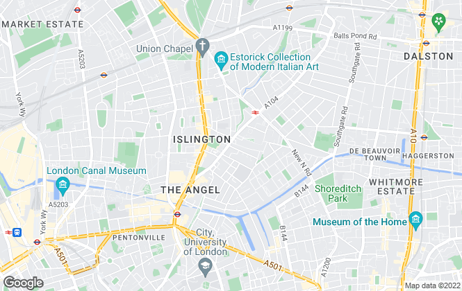 Map for Ellis & Co, Islington