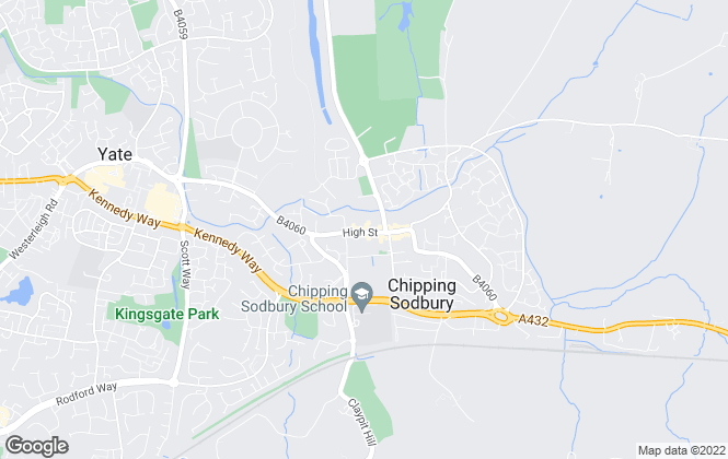 Map for Allen & Harris, Chipping Sodbury
