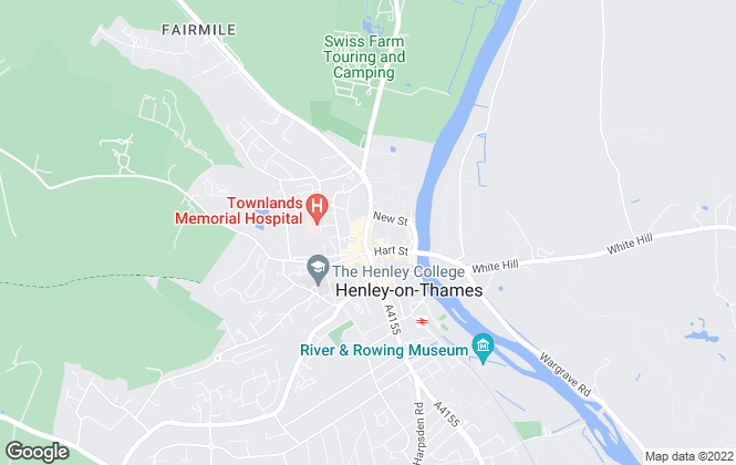 Map for Davis Tate, Henley