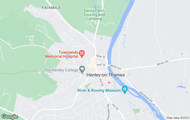 Map for Simmons & Sons, Henley On Thames - Lettings