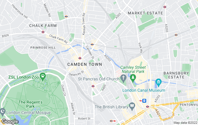 Map for One Housing, London