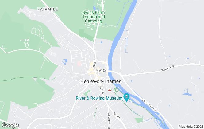 Map for Bonds Estate Agent, Henley on Thames