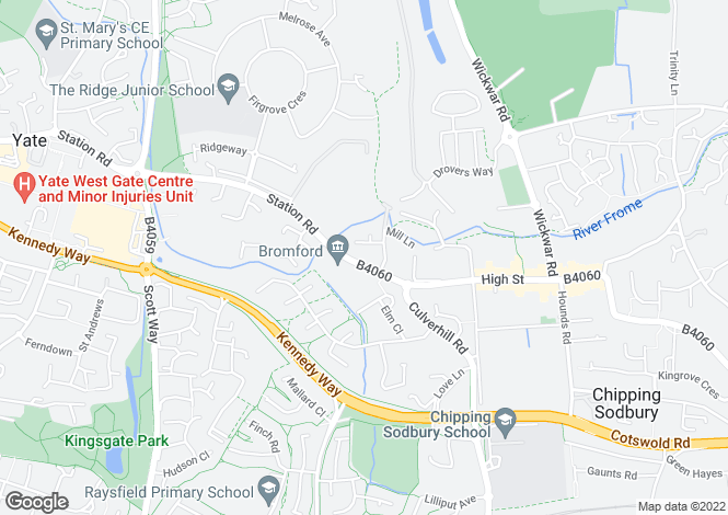 Map for Bowling Hill Business Park, Quarry Road,