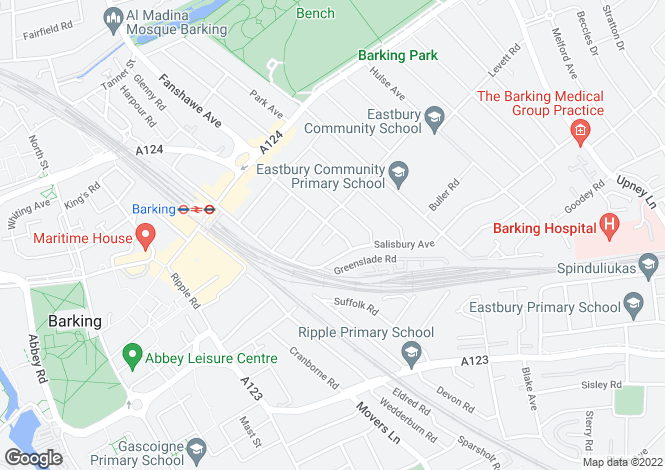 Map for Cecil Avenue,