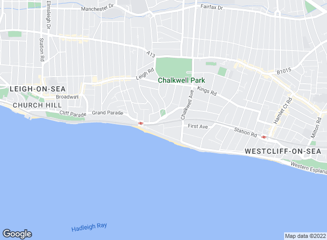 Map for Appointmoor Estates, Westcliff-On-Sea - Lettings