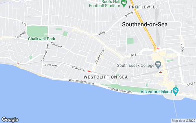 Map for Griffin , Westcliff-on-Sea