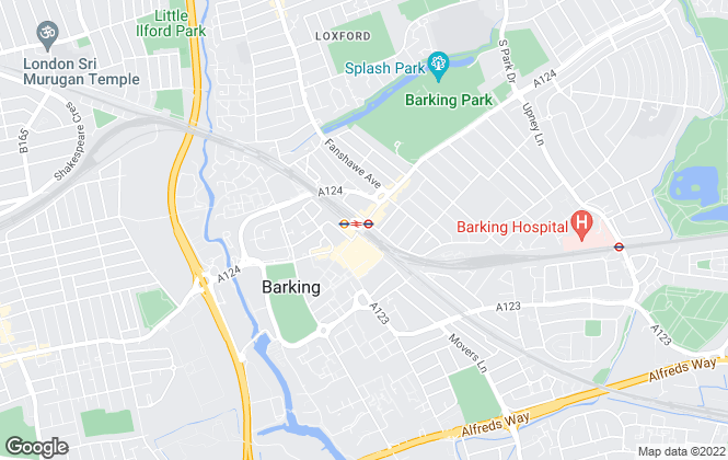 Map for Bairstow Eves, Barking