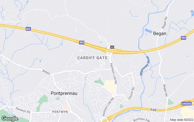 Map for Changes Personal Property Agents, Cardiff