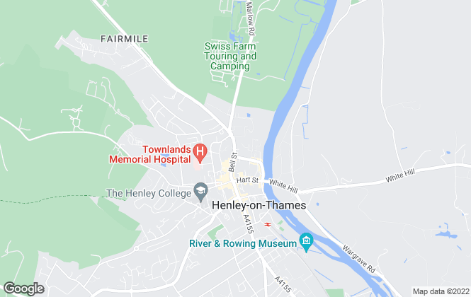 Map for Savills Lettings, Henley-On-Thames