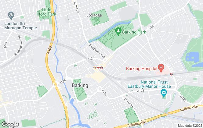 Map for Primelodge Estates, Barking