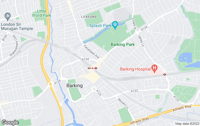 Map for Irwin Fisher, Barking - Sales