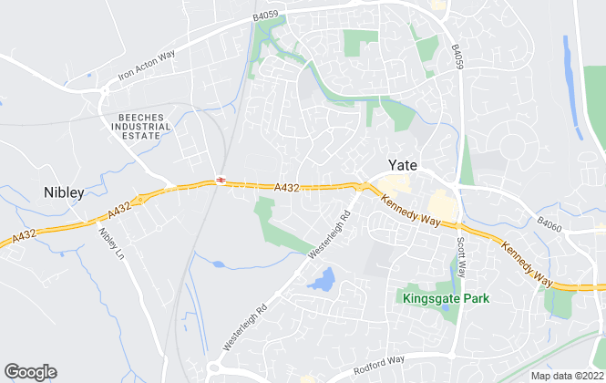Map for Taylors Estate Agents, Yate