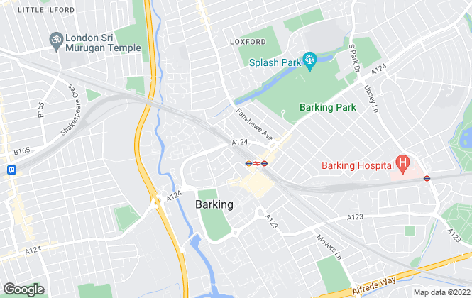 Map for Ramsey Moore, Barking