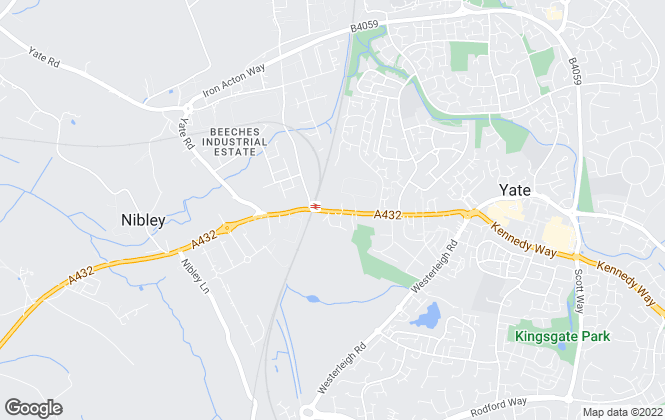 Map for Edison Ford, Yate