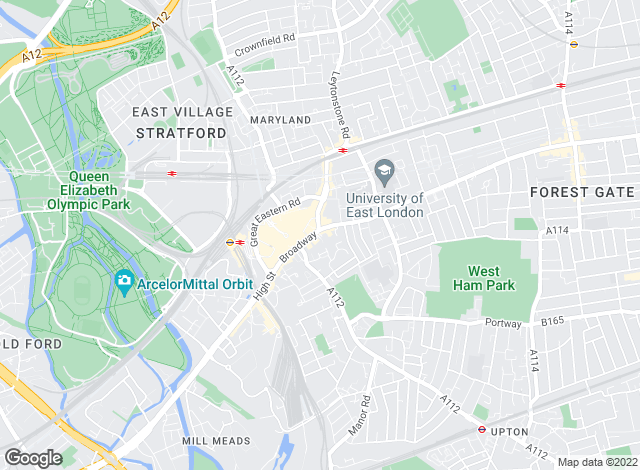 Map for Outlook, Stratford