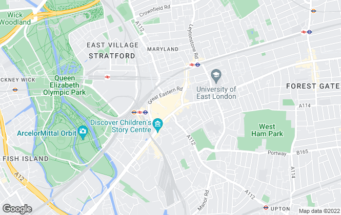 Map for SAB, London