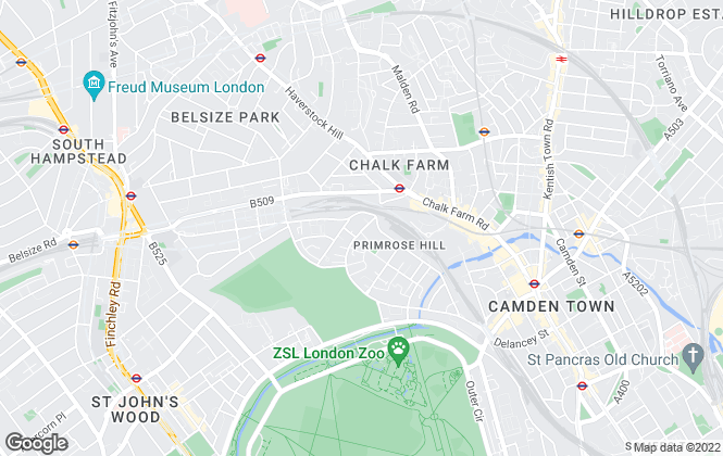 Map for David Birkett Estate Agents , London
