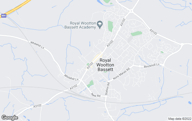 Map for Strakers, Royal Wootton Bassett