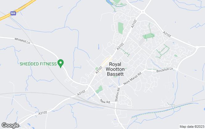 Map for Charles Harding Estate Agents, Royal Wooton Bassett - Lettings