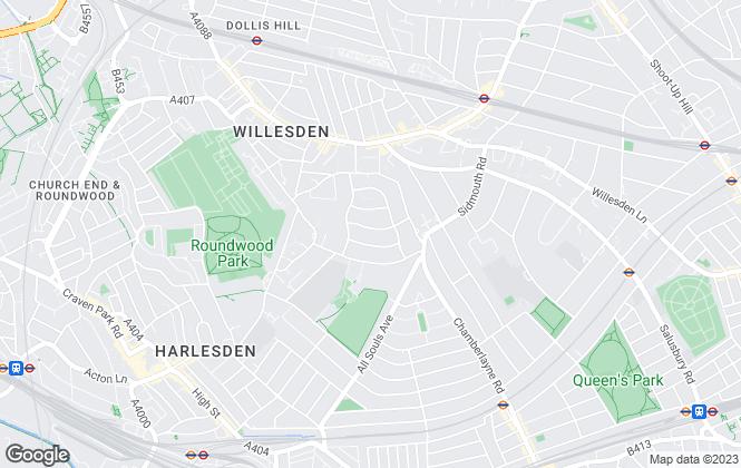 Map for Mr & Mrs Simons , London