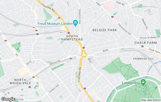 Map for Quinta Estates, London
