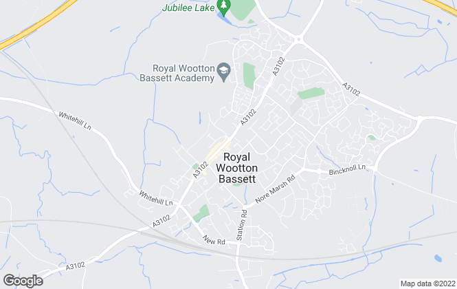 Map for Richard James, Royal Wootton Bassett - Lettings