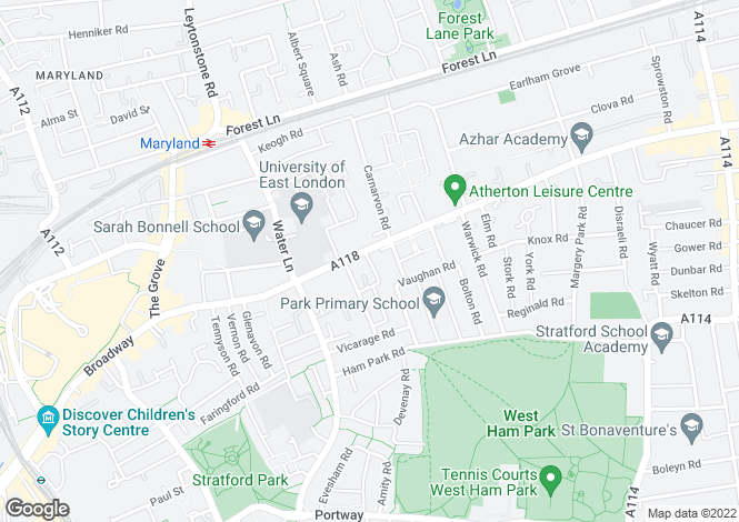Map for Candlelight Court, 124 Romford Road, LONDON