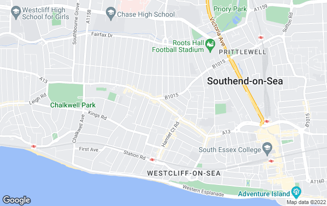 Map for Reed Residential, Westcliff