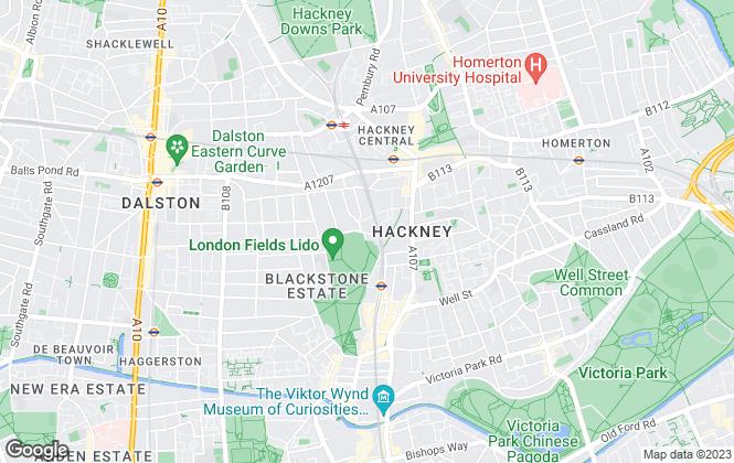 Map for Bennett Walden, London