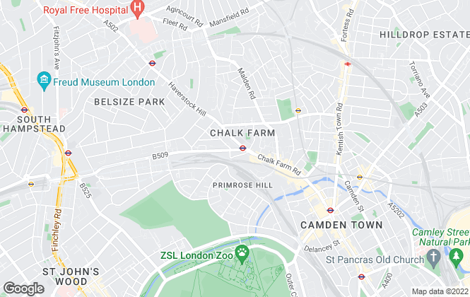 Map for CH Peppiatt, London