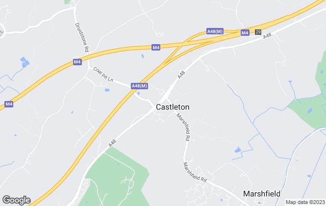 Map for Richard Hayward Properties, Cardiff
