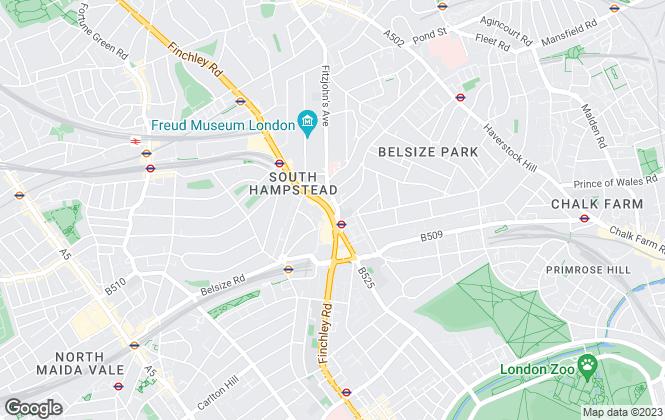 Map for Blane Rosen & Co, London