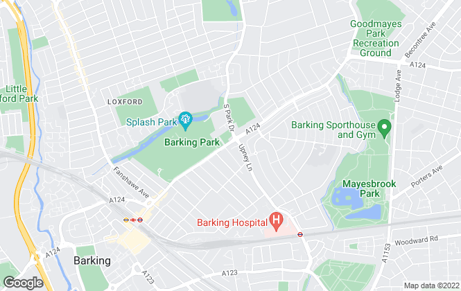 Map for Porter Glenny, Barking
